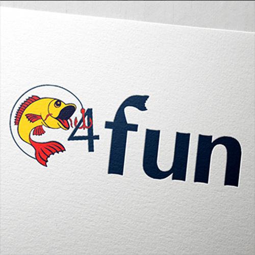 Premium logo design for fishing supplies store