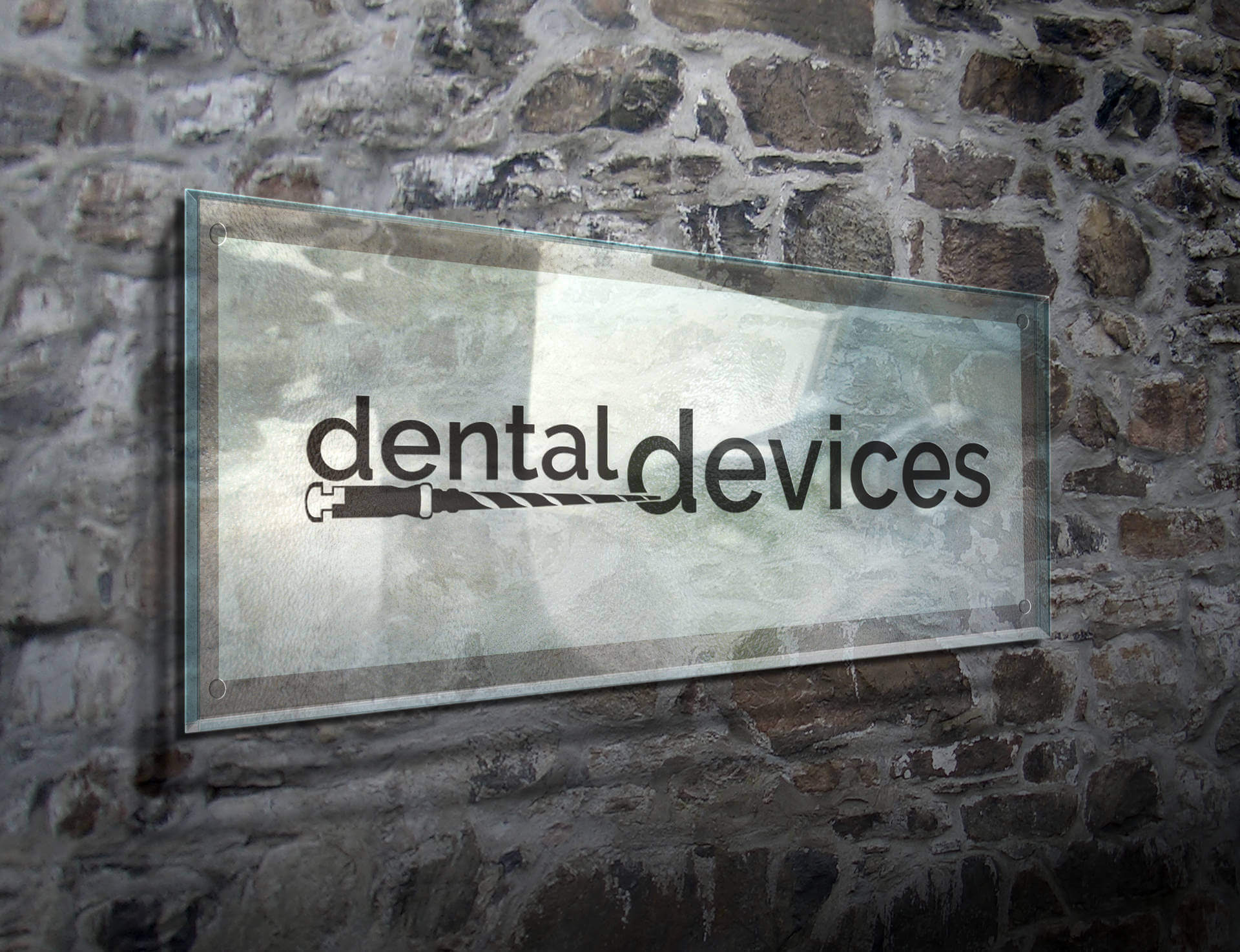 premium dental devices logo design