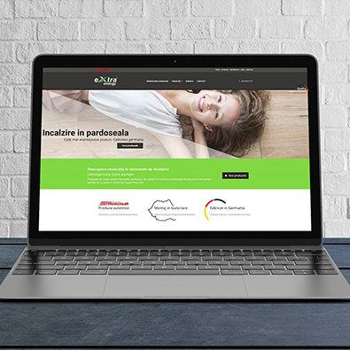 Premium website & print ready catalog for underfloor heating company