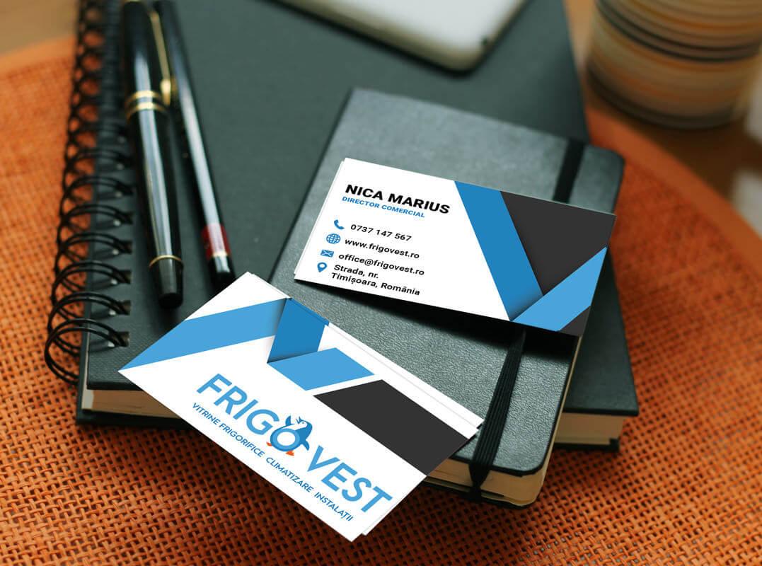 business card design frigovest