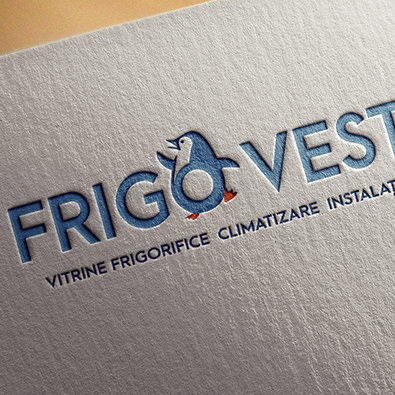 Logo design & branding for FrigoVest Romania