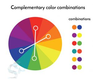 complementary colors for logo design