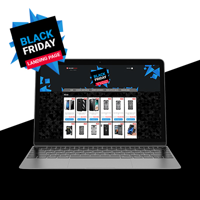 Thematic Landing page Black Friday 2018 on Magento 1.9