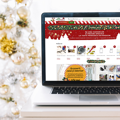 Temporary holiday themed skin for Magento 1.9 store