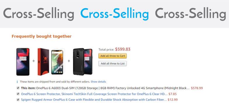 Cross-selling strategy ecommerce