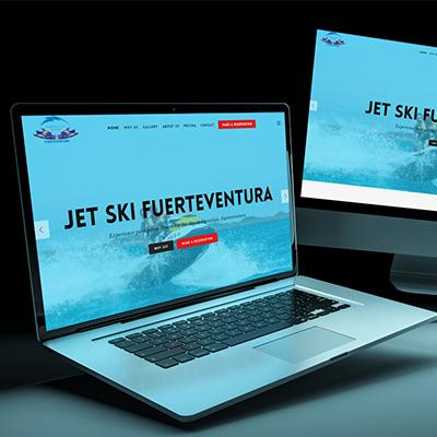 Jet Ski Fuerteventura – One Page trip Booking