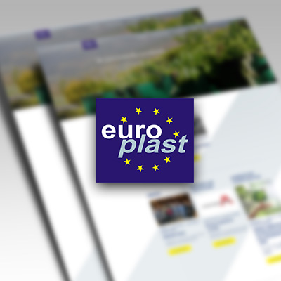 Static website for Europlast Romania