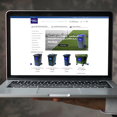 WooCommerce store for EuroPlast Russia