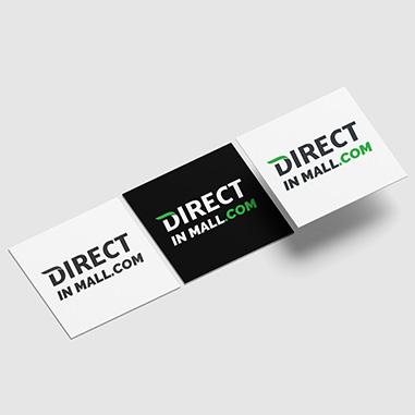 Logo design for Directinmall.com